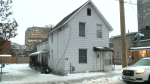 A home on Hinchey Avenue, where a fire broke out late Tuesday, Jan. 12, 2021.