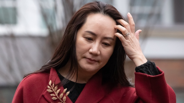 Huawei CFO Meng's family granted federal travel exemption to visit Canada