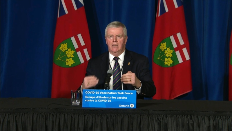 Ont. task force leader Rick Hillier