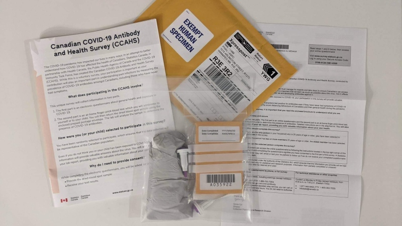 Antibody testing packages are being sent to Canadians across the country. (Evan Monk photo)