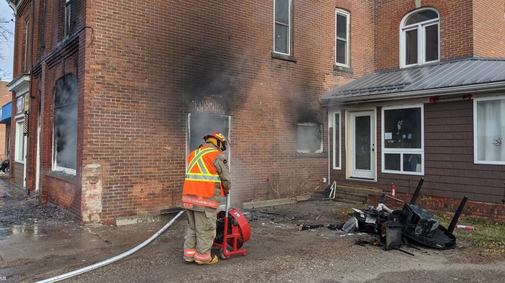 thamesville fire