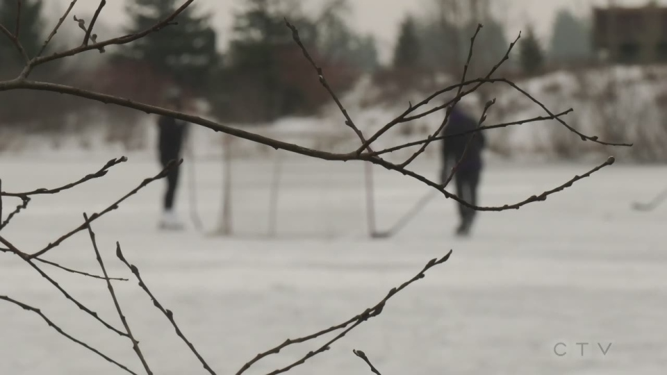 outdoor rink in London Ontario
