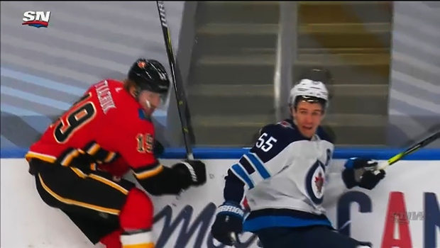 Matthew Tkachuk and Mark Scheifele