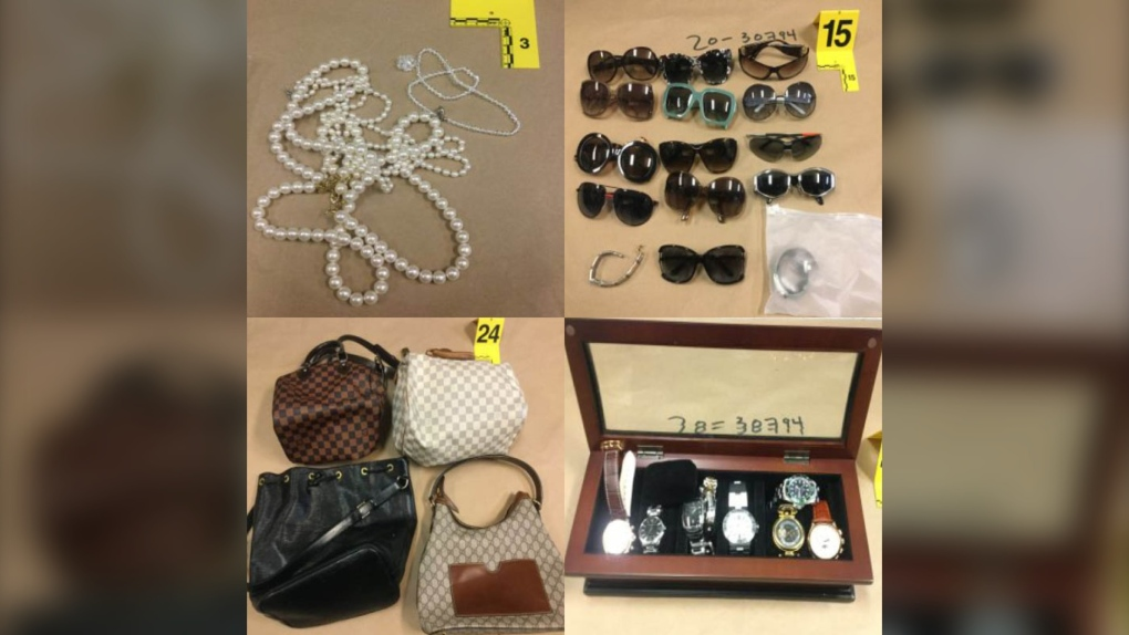 Stolen items recovered Coquitlam RCMP