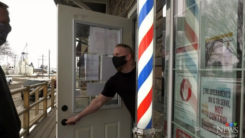 Innisfail barber gets court date