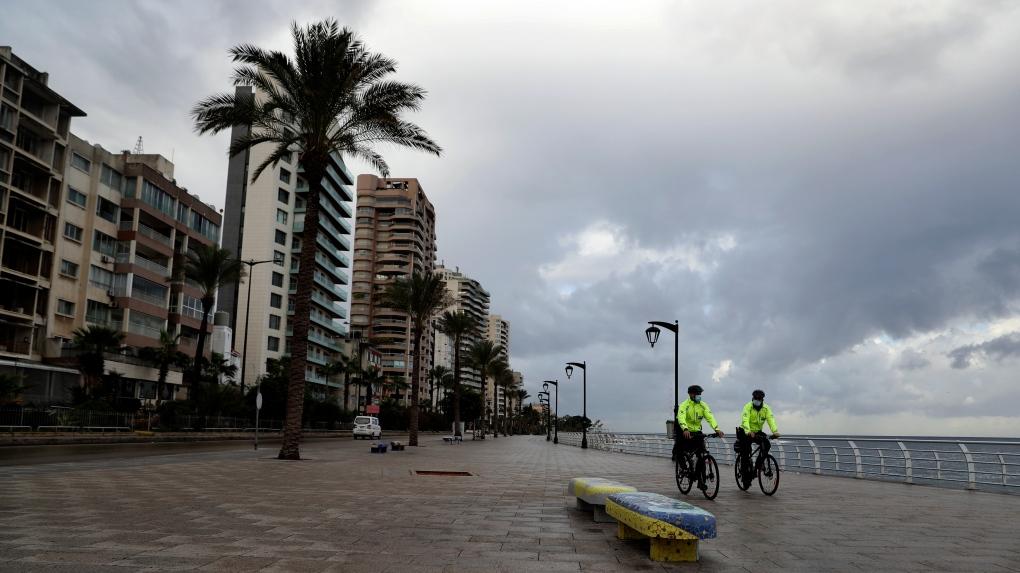 lebanon curfew