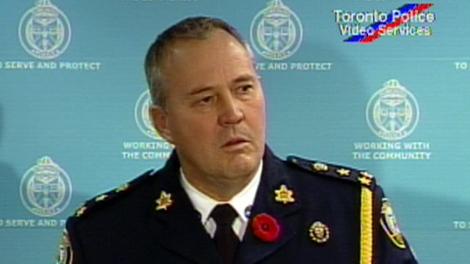 Toronto Police Chief Bill Blair on Wednesday, Oct. 28, 2009.