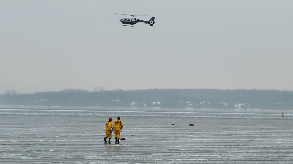 Lake Simcoe search