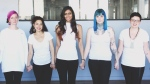 Christina Paruag has started a campaign to help women with endometriosis afford out-of-country surgery. From left to right: Jessie Sousa, Vinita Puri, Christina Paruag, Sarah Forrest, Maia Leggott and Katie Luciani. (Courtesy FemEvolve Magazine/Simone Lyn)