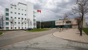 The National Microbiology Laboratory is shown in Winnipeg on May 19, 2009.THE CANADIAN PRESS/John Woods