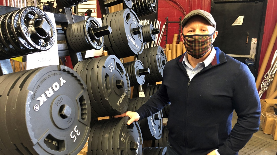 Finer Fitness owner Mike Yaworsky