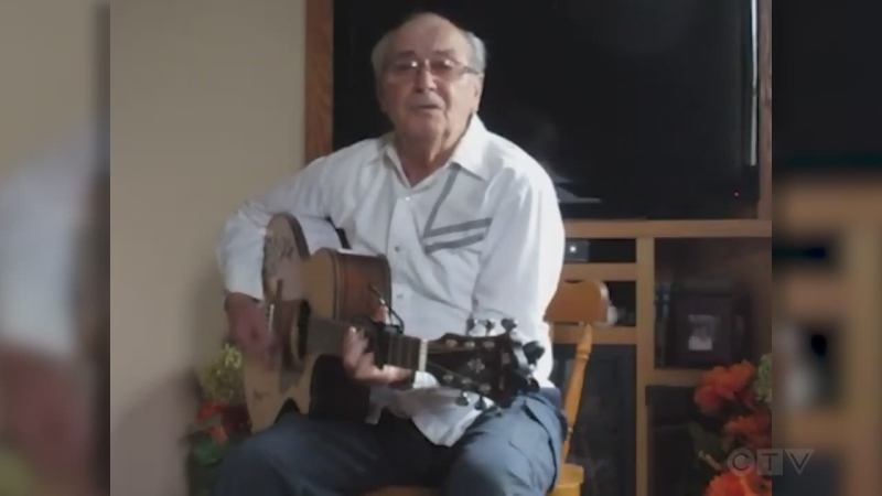 Sudbury's Eddy Pinard sings old Don Williams song