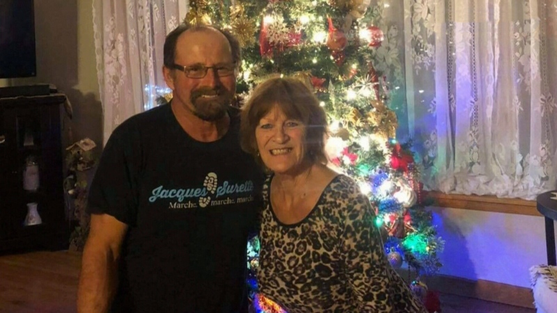 The search continues for 69-year-old Kenneth Surette (left), who was boating with his wife Noreen (right). Noreen Surette's body was found Tuesday afternoon on the shoreline of Morris Island in Yarmouth County.