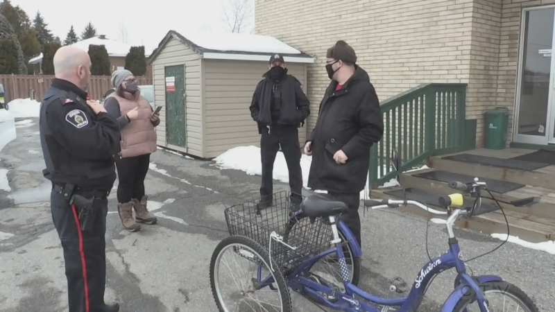 Sudbury man's happy ending to stolen bike