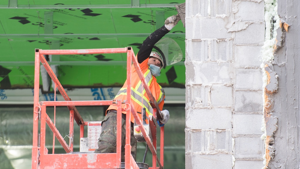 Construction has not slowed in Quebec
