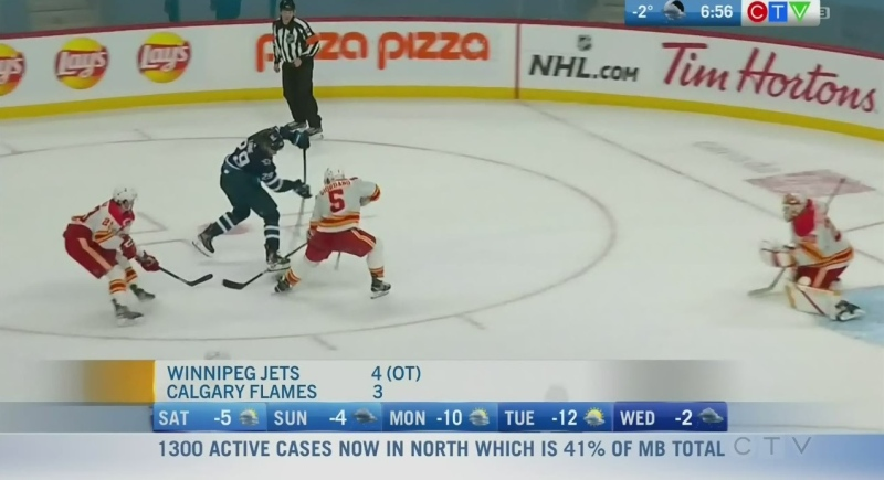 Laine nets 3 points in Jets season opener OT win
