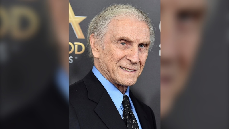 "In this Nov. 1, 2015, file photo, Peter Mark Richman arrives at the Hollywood Film Awards in Beverly Hills, Calif. Richman, a character actor who appeared in hundreds of television episodes and had recurring roles on ""Three's Company"" and ""Beverly Hills 90210,"" has died. He was 93. Richman died Thursday, Jan. 14, 2021, at his home in Los Angeles of natural causes, publicist Harlan Boll announced. (Photo by Jordan Strauss/Invision/AP, File)"
