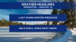 Jan 15 weather headlines