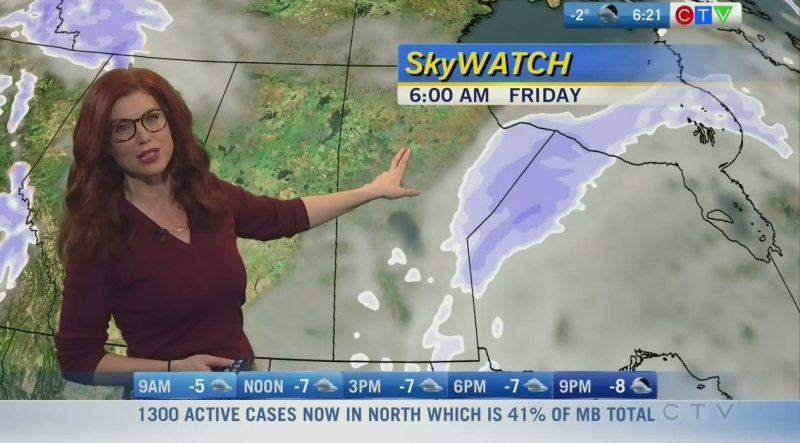 CTV Morning Live Weather Update for January 15