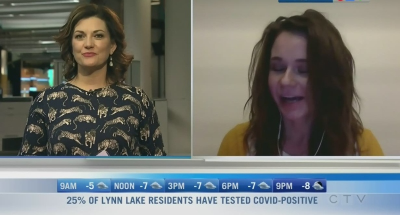Brina Gervais was a looking for a volunteer opportunity and found one as a Big Sister. Rachel Lagacé reports.