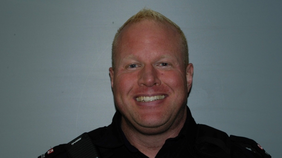 Const. Darcy Lunn, Chatham-Kent Police Service. (Source: Chatham-Kent Police Service)