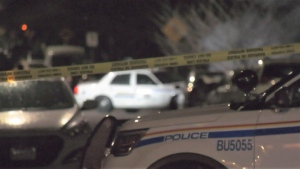 There was a large police presence in a Burnaby neighbourhood on Jan. 14, 2021.
