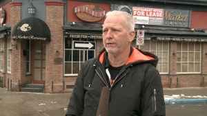 Restaurateur John Borsten is taking over the former Fish Market building in the ByWard Market. (Shaun Vardon/CTV News Ottawa)