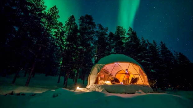 Edmonton outdoorsman creates 'glamping' experience in the river valley