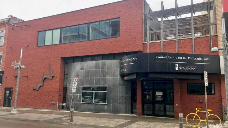 The Conrad Centre for the Performing Arts was donated to the City of Kitchener. (Dan Lauckner / CTV Kitchener)