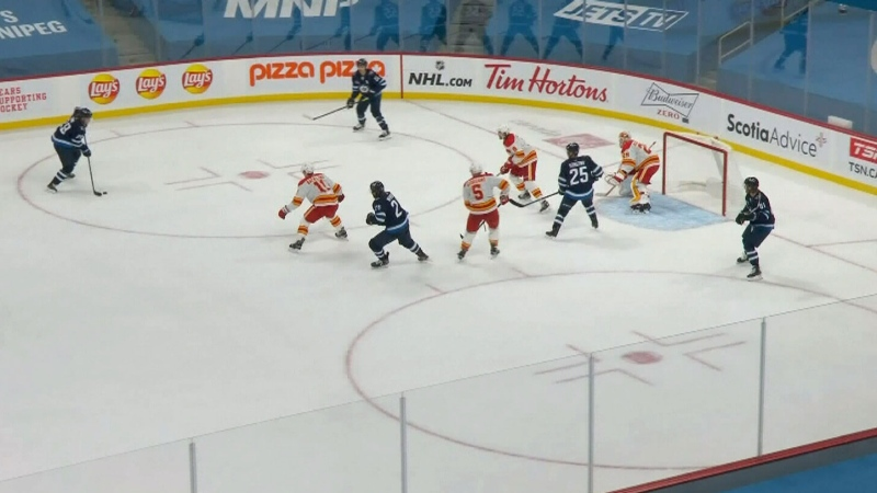 Flames lose their opener