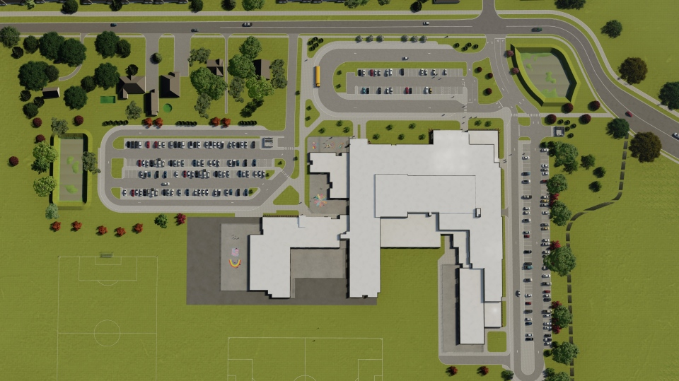 Kingsville school site plan