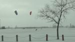 Kite sailing