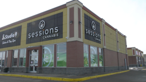 Sessions Cannabis is opening its doors on Saturday in Brockville. (Nate Vandermeer/CTV News Ottawa)