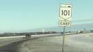 Perimeter Highway January 15 (Ken Gabel, CTV News)