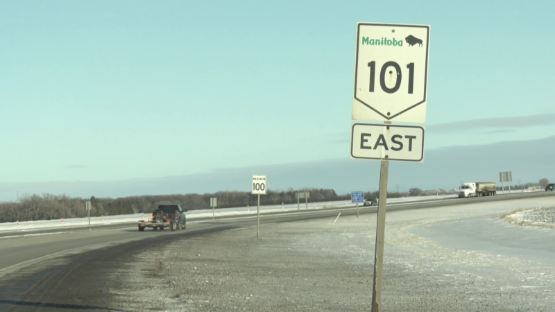 Perimeter Highway January 15 (Ken Gabel, CTV News)