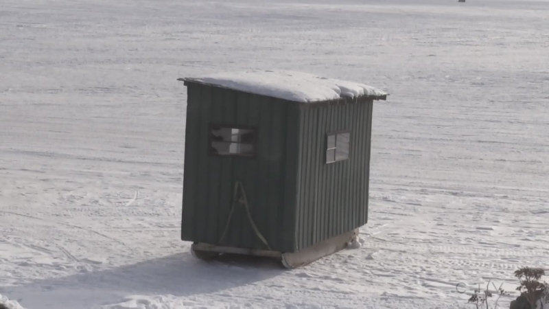 Ice hut rentals are drop due to stay-at-home order