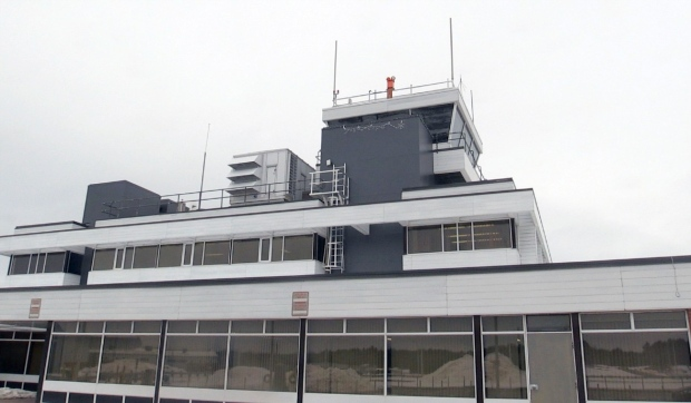 A review by the federal agency in charge of operating air traffic control towers at airports could see Sault Ste. Marie lose its air traffic control service all together. (Christian D'Avino/CTV News)
