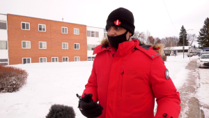Amit Kotwani was among the dozens of people sent to hospital following a carbon monoxide (CO) leak. (Chad HIlls/CTV Saskatoon)