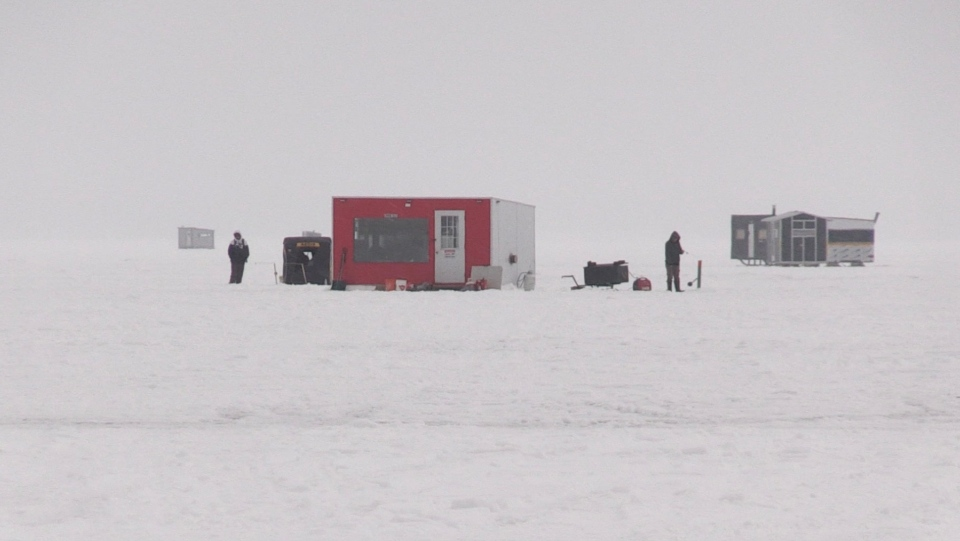 Ice Fishing Northern Ontario