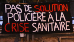 A protest against the Quebec-wide curfew in Montreal is based on encouraging a science-based approach to the pandemic and not a police-enforced one. SOURCE: Pas de solution policière à la crise sanitaire/Facebook