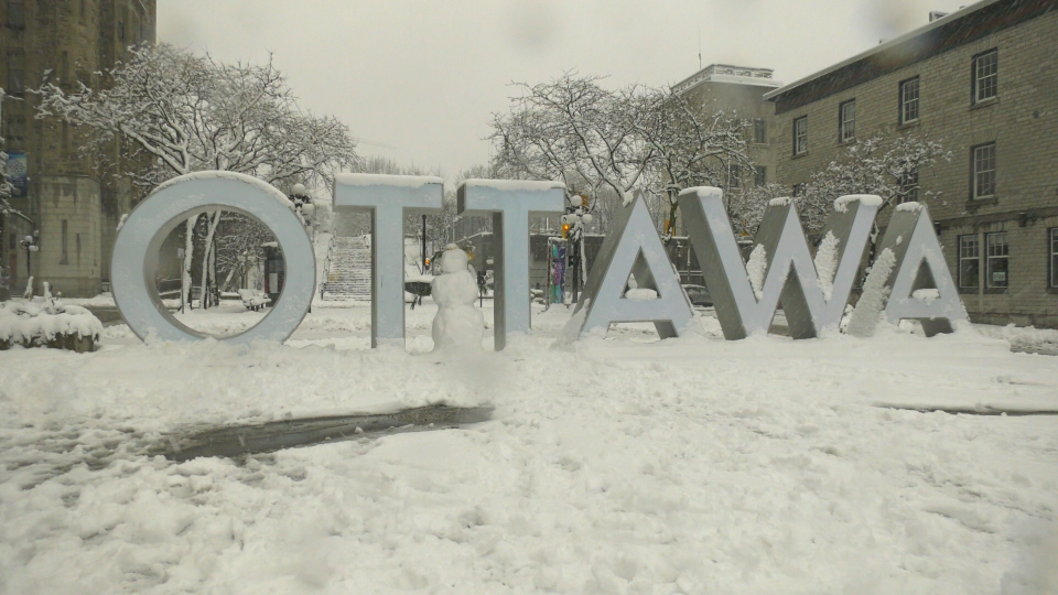 Winter in Ottawa