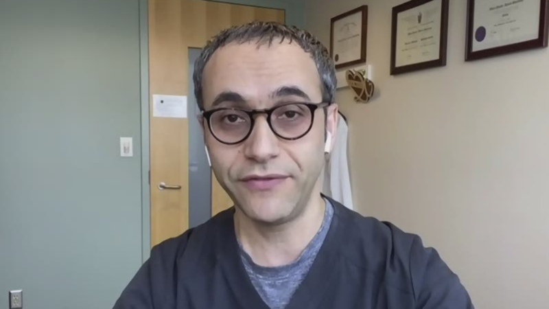 Infectious disease specialist Dr. Abdu Sharkawy