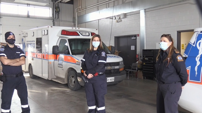 Pandemic adding more stress to paramedics