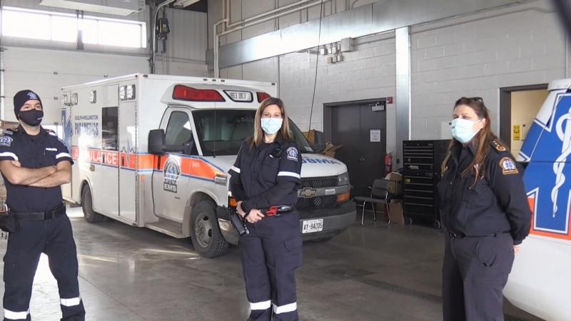 Pandemic adding more stress to paramedics