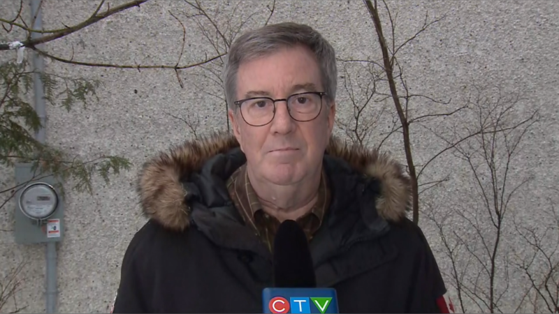 Ottawa Mayor Jim Watson speaks to CTV News at Six, Jan. 16, 2021.