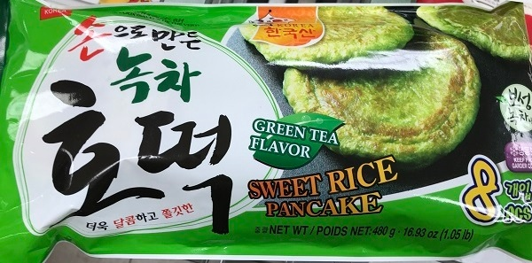 Wang Korea brand sweet rice pancake products