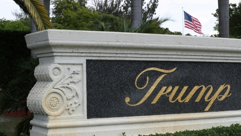 U.S. President Donald Trump's name, which emblazons his properties such as the Trump National Doral golf resort in Florida, has become an albatross, experts say. (AFP)