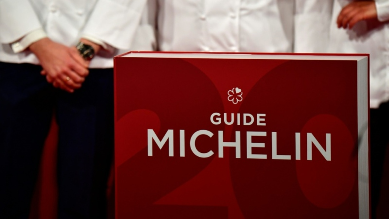 The Michelin industry bible has drawn fire for going ahead with its 2021 restaurant awards amid the coronavirus pandemic. (AFP)