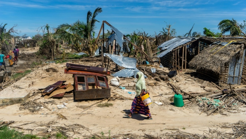 Adaptation -- reducing the fall out among communities and increasing their capacity to deal with climate-related disasters such as floods and drought -- is a key pillar of the landmark 2015 Paris accord. (AFP)