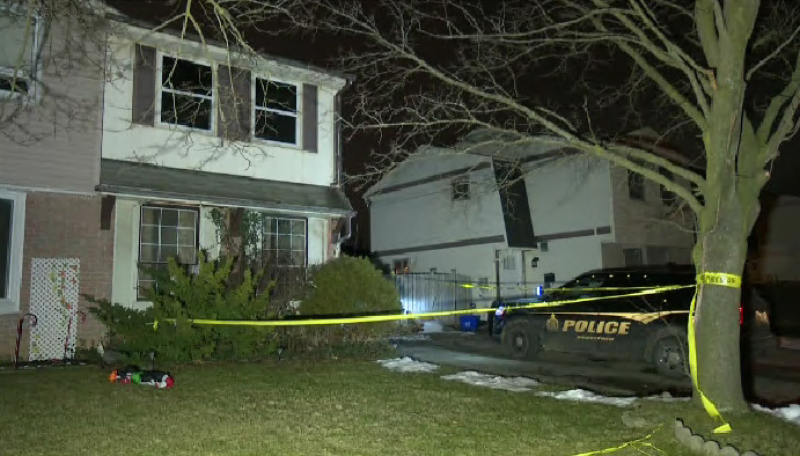 One person is dead after a house fire in Brantford. (CTV Kitchener) (Jan. 16, 2020)